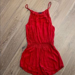 Brandy Melville romper, worn once, one size!